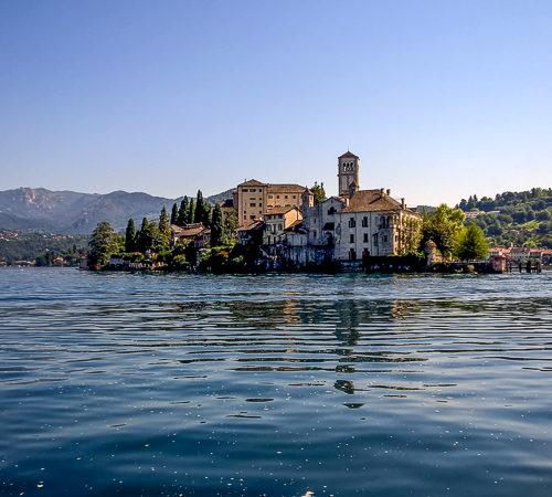 Orta See, Insel Giulio