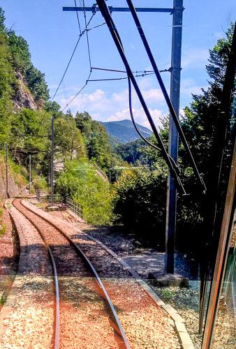 Centovallino Bahnfahrt zw. Domodossola u. Locarno